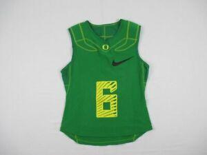 Nike-Oregon-Ducks-Green-Padded-Jersey-Multiple-Sizes-Used