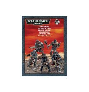 Warhammer-40k-Chaos-Cultists-5-Man-Box-NIB
