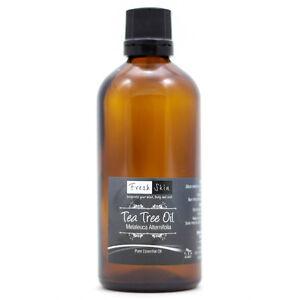 100ml-Tea-Tree-100-Pure-Essential-Oil-Melaleuca-alternifolia-Aromatherapy
