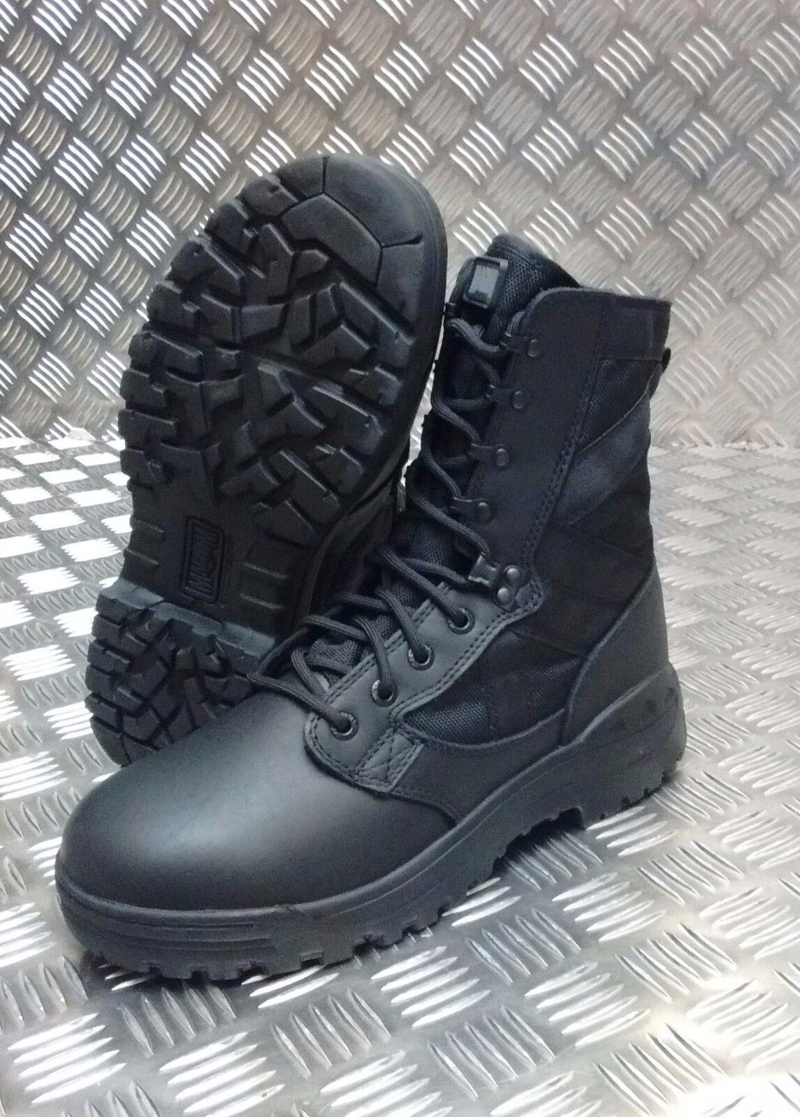 Genuino Ejército Británico Negro Magnum Assault botas De Combate Patrulla 3 5 6 de Amazon