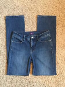 Womens-NYDJ-Size-8-Straight-Leg-Jeans-Waist-31-Not-Your-Daughters-Jeans