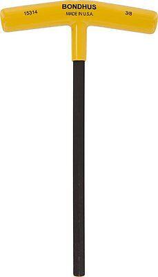 Bondhus 15360 4mm Hex Tip T-Handle with ProGuard Finish 2 Piece
