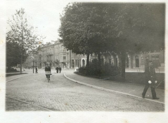 Zwolle .  Pays-Bas . photo ancienne vers 1900 .