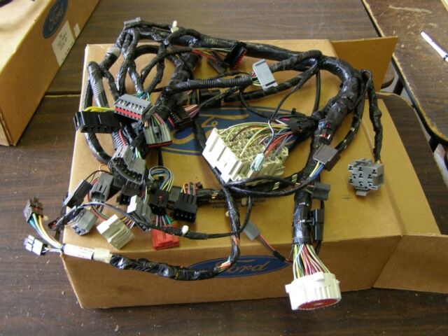 oem ford 1989 truck pickup under dash wiring harness f150 f250 f350 gas for  sale online | ebay  ebay