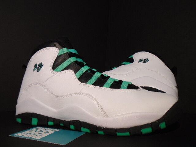 Nike Air Jordan 10 Retro 30TH GG Blanco X Verde nuevo Verde Negro Infrarrojo 23 nuevo Verde 9.5 4fd24e