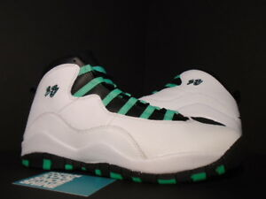 1ac51e2cce0 Nike Air Jordan X 10 Retro 30TH GG WHITE VERDE GREEN BLACK INFRARED ...