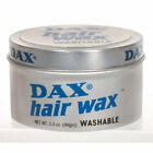 12 X DAX Hair Wax Washable 99g Tins