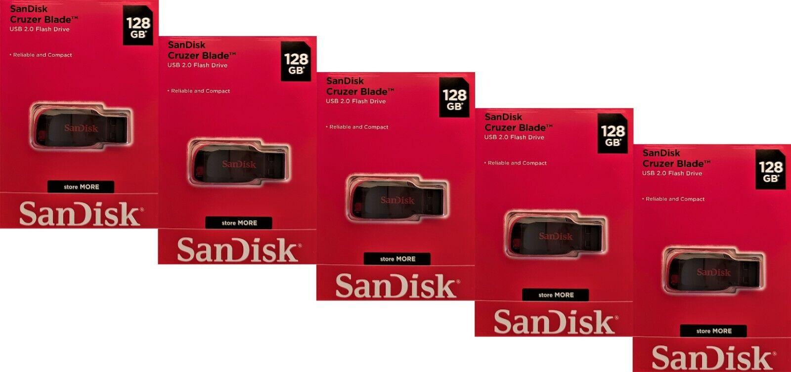 5x 128GB USB Stick