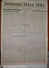 13 luglio 1944 Battaglia in Normandia Volterra V1 Bombe su Rovigo Kowel Volterra