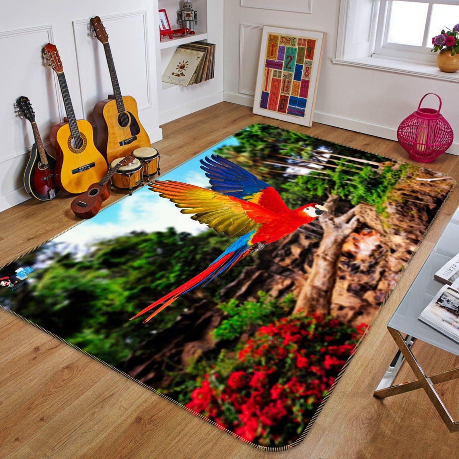 3d dipinto di bosco 136 non-slip CARPET MAT quality elegante Carpet de Summer