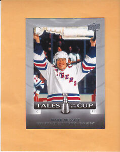 2008-09-UPPER-DECK-TALES-OF-THE-CUP-TC2-MARK-MESSIER-NEW-YORK-RANGERS