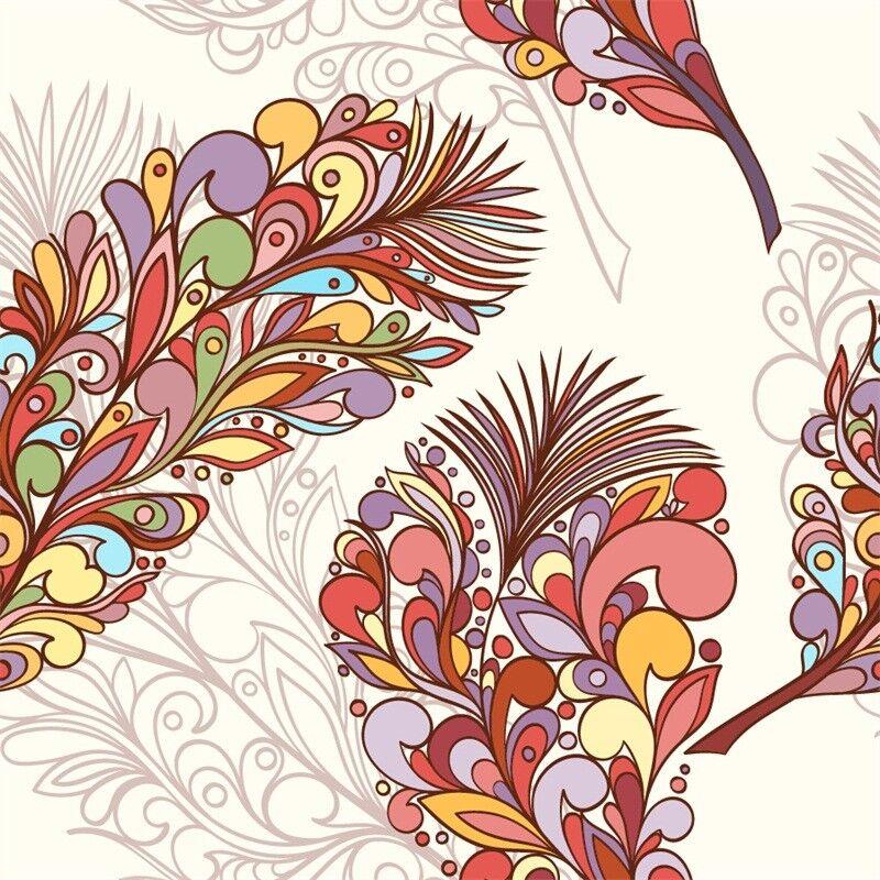 3D Farbe Farbe Farbe Federn Muster 7998 Tapete Wandgemälde Tapeten Bild Familie DE Jenny | Kostengünstig  | Spielzeugwelt, spielen Sie Ihre eigene Welt  |  0e7d6f