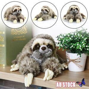 Cute-13-7-034-Sloth-Plush-Animals-Lying-Three-Toed-Cuddly-Soft-Stuffed-Toy