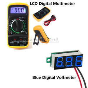 LCD-Digital-Multimeter-Voltmeter-Ammeter-OHM-AC-DC-VOLT-Tester-Checker-XL830L