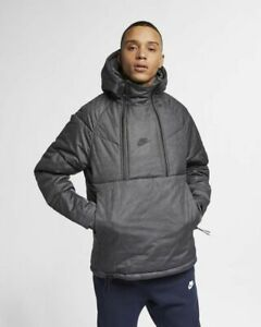 bbe1fd75f MENS NIKE TECH PACK SYNTHETIC FILL HOODED JACKET SIZE L (928885 010 ...