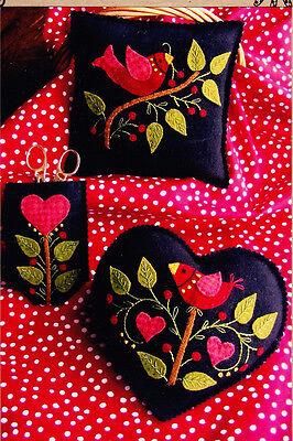 PATTERN - Americana Needlework Set - applique sewing accessory PATTERN