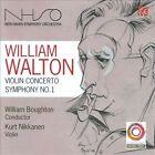 William Walton: Violin Concerto; Symphony No. 1 (CD, May-2010, Nimbus Records)