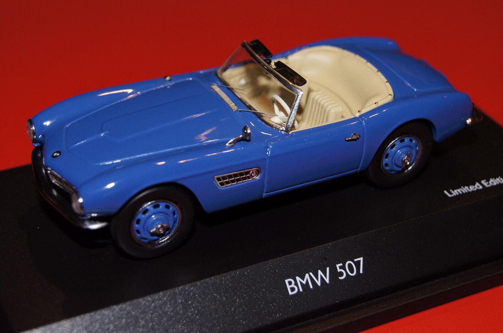 BMW 507 cabriolet bleu Lim. 1 of 1000 1 43 schuco NOUVEAU & OVP 2178