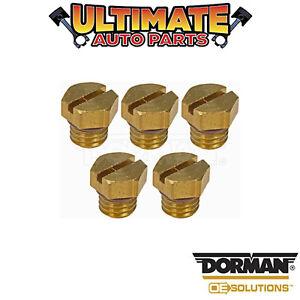 Dorman: 904-112HP - Diesel Fuel Filter Bleeder Screw