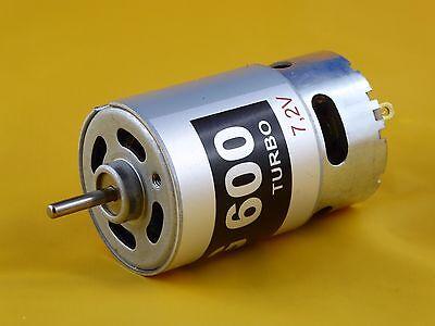 Motore Mig 600 Turbo 7,2v (3,6-9,6v) Per Volo/nave Modelli, Rc-modelli Ecc.-delle, Rc-modelle Usw. It-it Mostra Il Titolo Originale