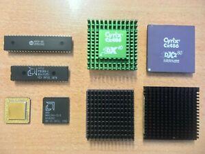 RARE Vintage AMD P8088 286 10MHz INTEL 486 DX2 66MHz CYRIX DX 40MHz 80MHz Lot
