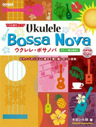 Score Ukulele Bossa Nova Kiyoshi Kobayashi Performance Mit CD F//S W//Abtastung #