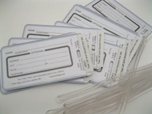 Lot of 10 New Case Tags for Musical Instruments Marching Band Jazz Travel