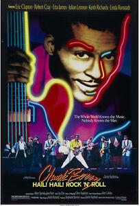 """Chuck Berry Hail! Hail! Rock 'n' Roll Movie Poster Replica 13x19"""" Photo Print"""