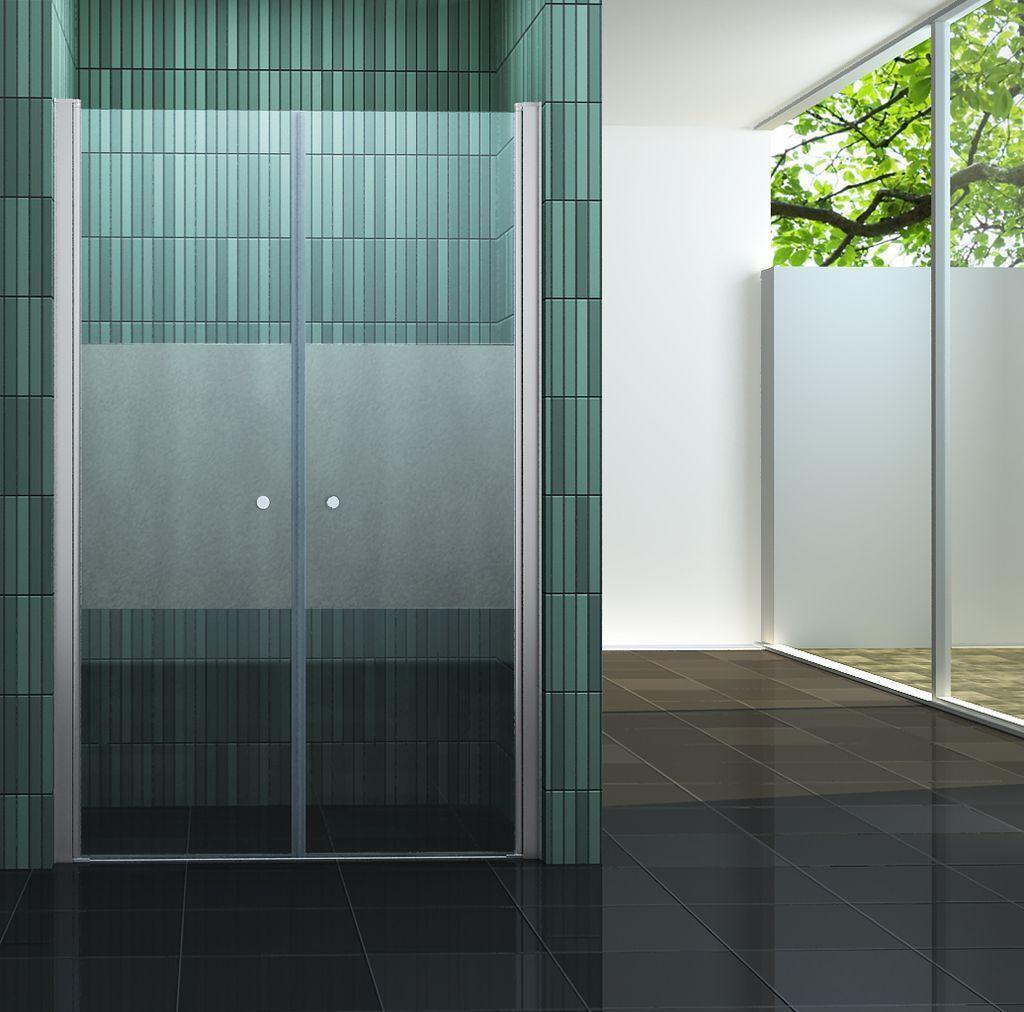 75-144 WINGS-PF Nischen Tür Pendel Dusch Tür Duschabtrennung Dusche Duschkabine