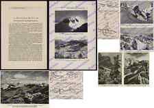 Dolomitenfront Gebirgskrieg Gipfel-Sprengungen Col di Lana Pasubio Tirol 1916