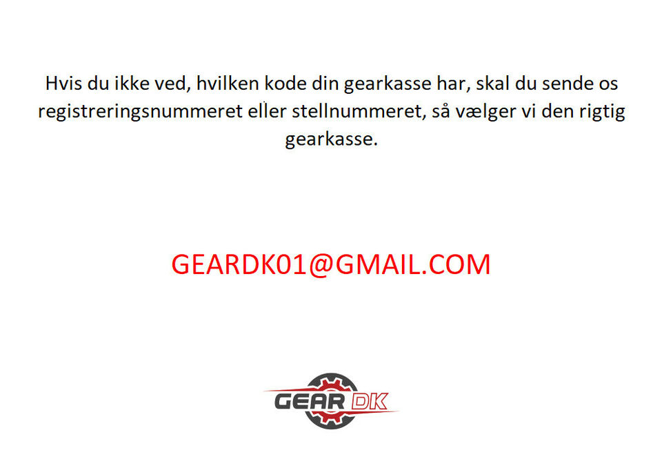 Gearkasse AUDI A3 SKODA OCTAVIA 1.6 FSI FVG