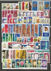 DDR-1970-absolut-Postfrisch-kompletter-Jahrgang-Einzelmarken