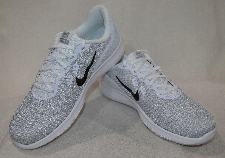 Nike Flex Trainer 7 blancoo blancoo blancoo Plateado para Mujer Zapatos De Entrenamiento-tamaños surtidos Nueva con caja  ganancia cero