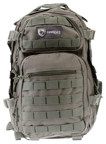 Drago Gear Scout Backpack Grey 14305GY NEW