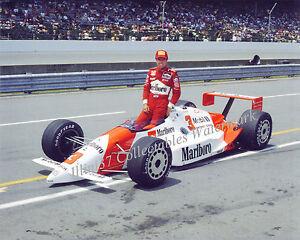RICK MEARS 1988 INDY 500 WINNER AUTO RACING 8X10 PHOTO