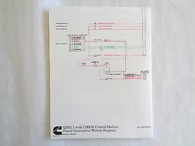 Cummins    QSM11 with CM876 Control Module Power Generation