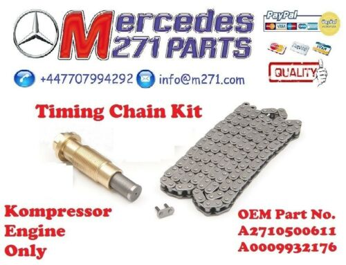 A2710500611 Mercedes M271` Timing Chain Kit A2710520416 inclut A0009932176