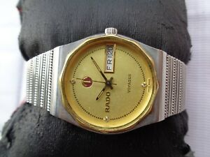Details about GENUINE SWISS VTG RADO VOYAGER 32MM ORIGINAL INDIA DIAL  UNISEX AUTOMATIC WATCH