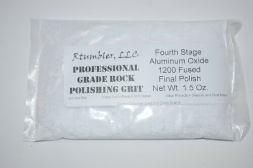 Made in the U.S.A. Thumler/'s Tumblers Rock Polishing Tumbling Grit For 5 Pack