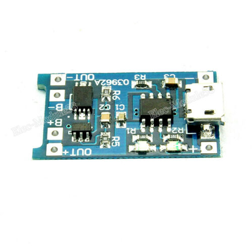 1A Micro USB 18650 Lithium Battery Charging Board Lipo Charger Protection Module