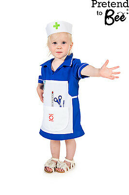 Childrens Girls Dress Up infermiera uniforme vestito con accessori gioco