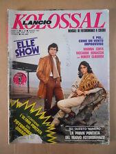 KOLOSSAL Fotoromanzo n°88 1982  [D31] GLIGOROV