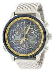 Citizen Eco-Drive Navihawk A-T Chronograph Perpetual Mens Watch JY8031-56L