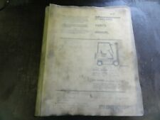 Clark Gpx230 Forklift Parts Manual 2745334