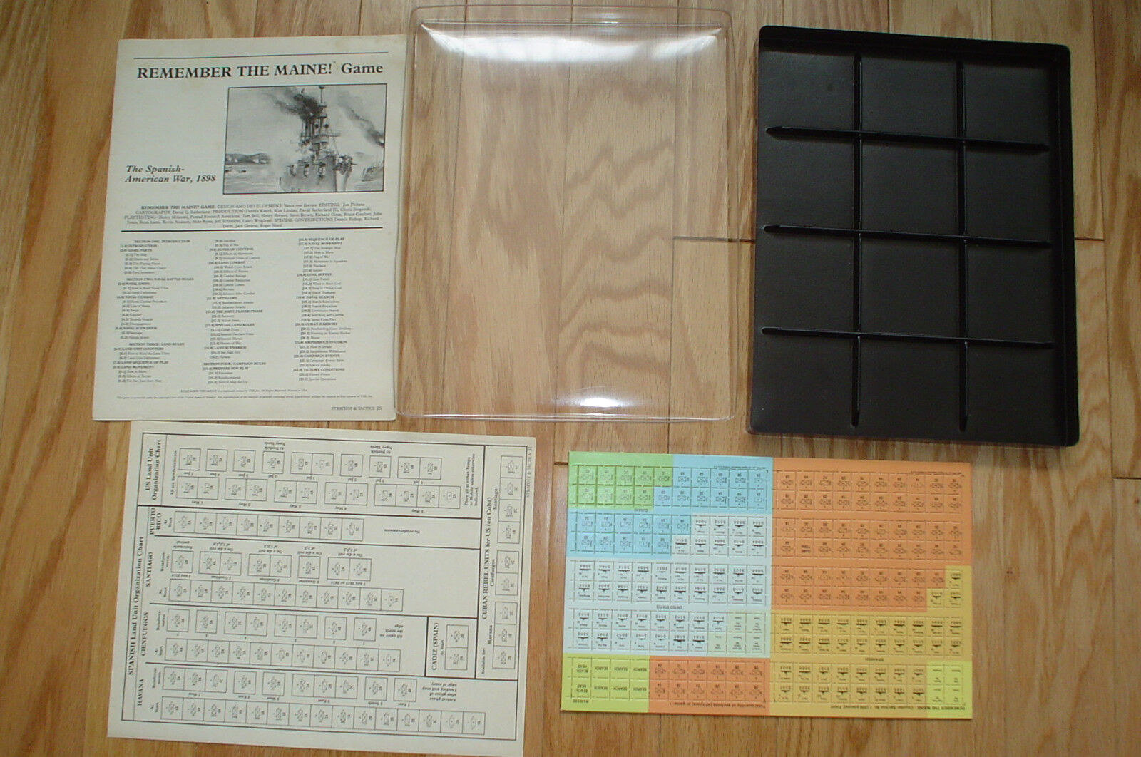 REMEMBER THE MAINE War gioco By TSR - 1986  - UNPUNCHED  prezzo all'ingrosso