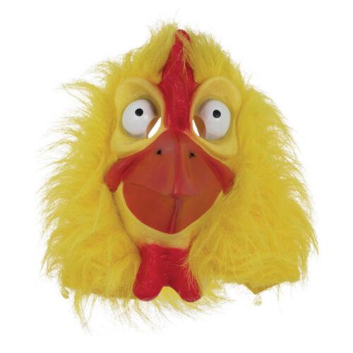 Poulet Masque Jaune Fourrure Animal de Pâques Fancy Dress Costume Masque