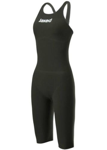 Jaked J Katana Knee Suit Open Back Black