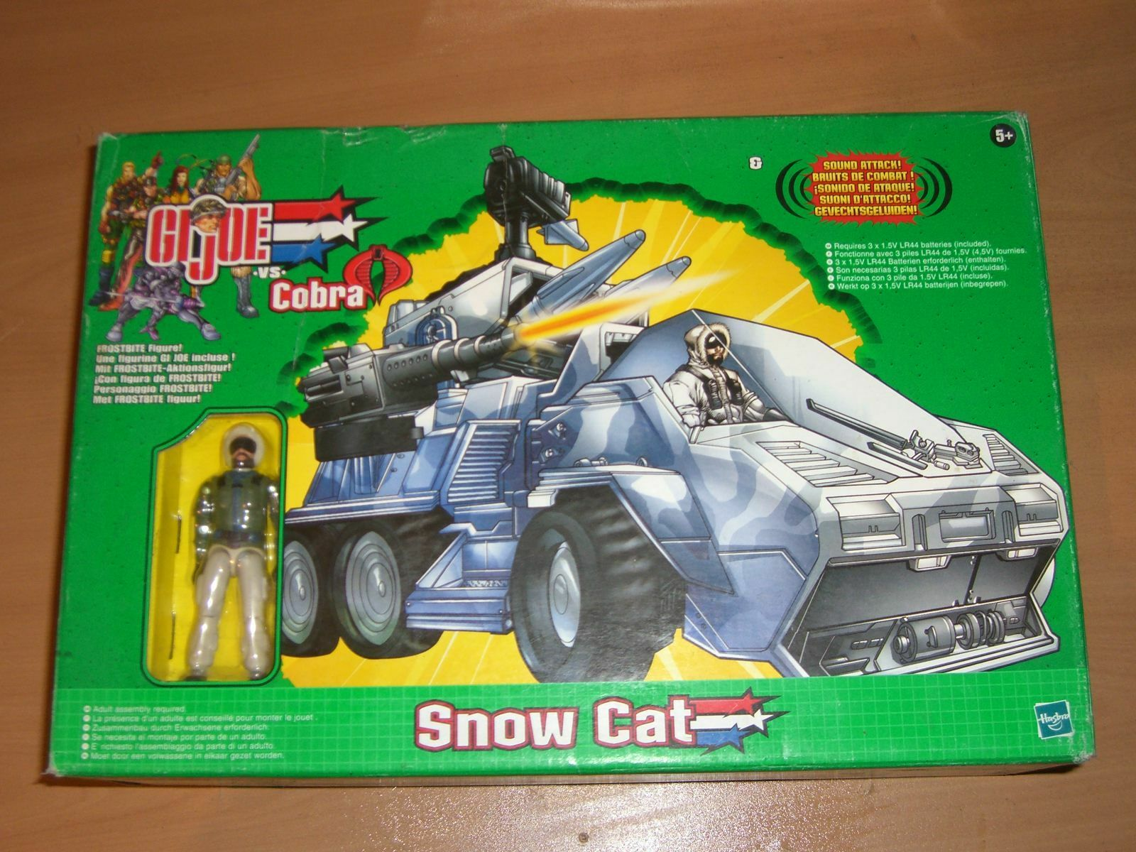 G.I. GI Joe 2003 TOYS R US EXCLUSIVE SNOW CAT MIB