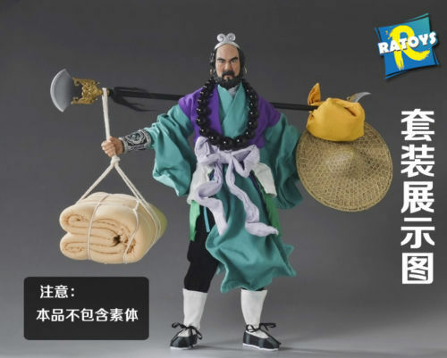RATOYS 1 6  Journey to the West Sha Monk Clothes set  F 12 Male Figure