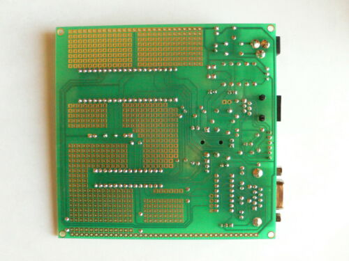 /& 40-pin DIP 28 Microchip PIC Prototype Board w RS232 and ICSP